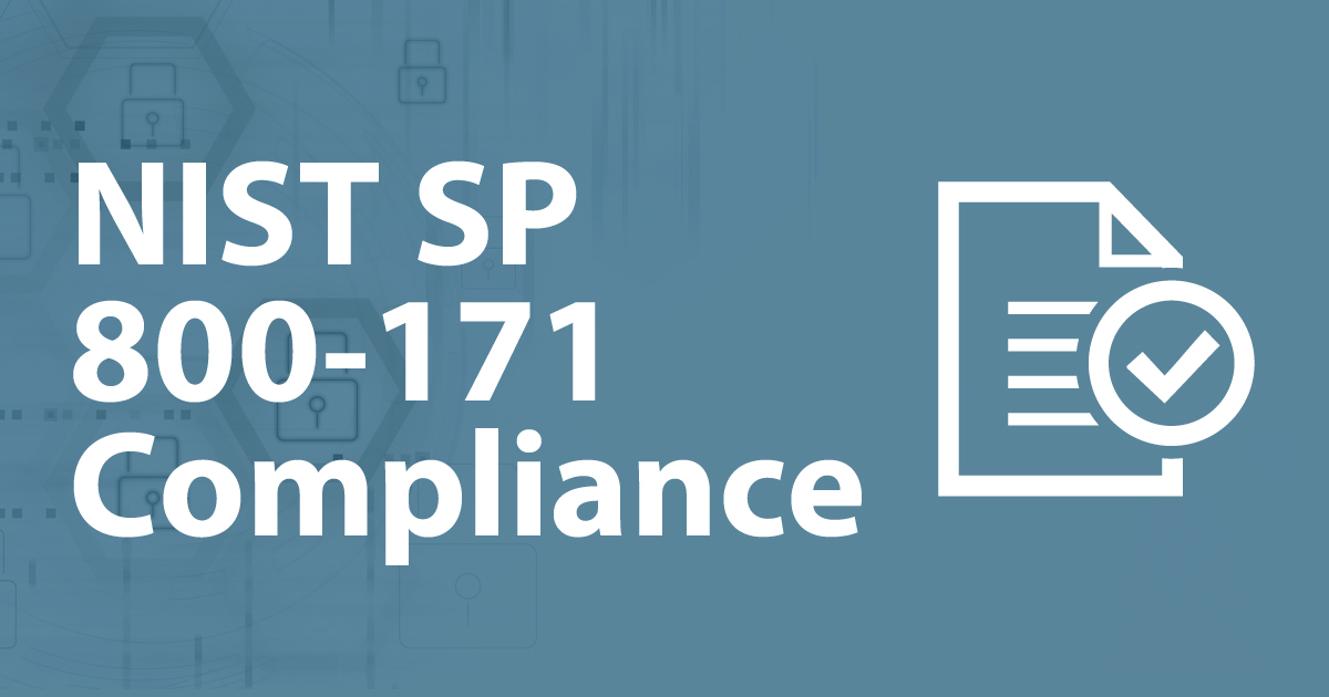 NIST SP 800-171 Compliant for Your Data Security